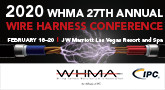 27th Annual Wire Harness Conference, Feb 18-20, 2020